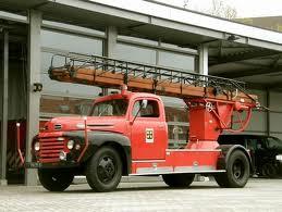 Ford F 6 Brandweerwagen H'sum